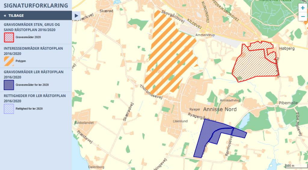 Gribskov råstofplan 2016 2020 syd