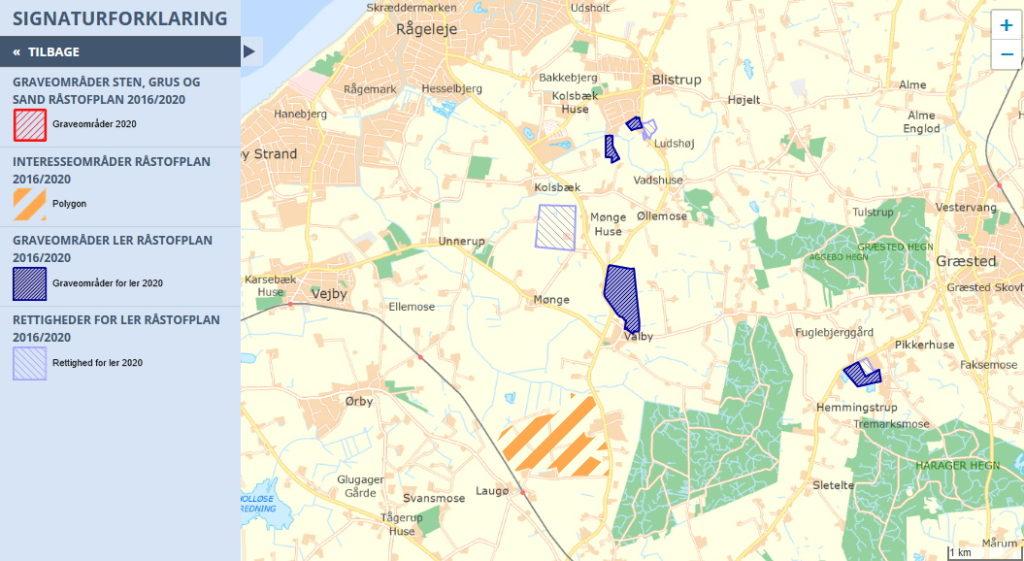 Gribskov råstofplan 2016 2020 nord